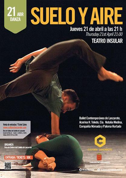 Suelo y aire Teatro Insular de Lanzarote abril 2016