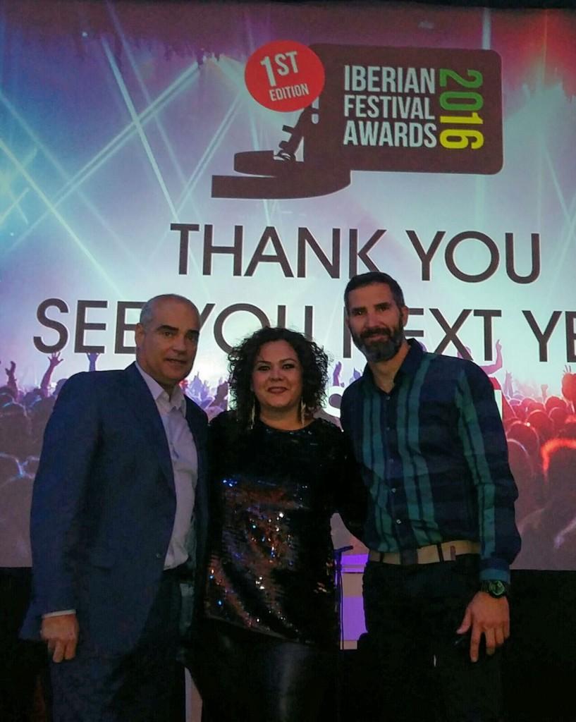 AEV iberian Festival Awards Arrecife en Vivo Ganador marzo 2016