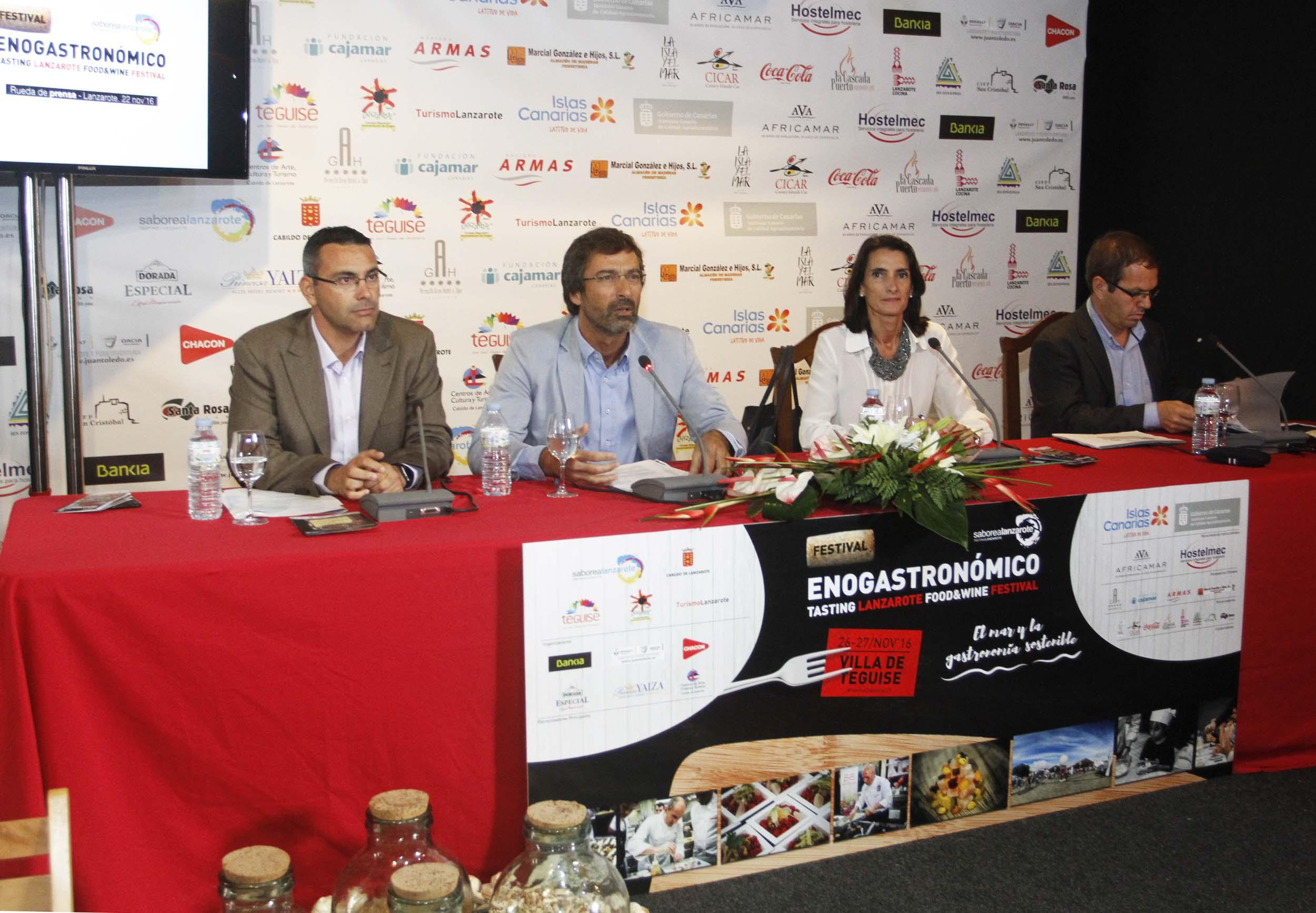Feria enogastronómica Teguise 2016 presentacion