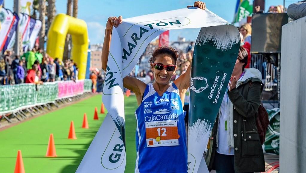 Aroa Merino. Gran Canaria Maraton 2017