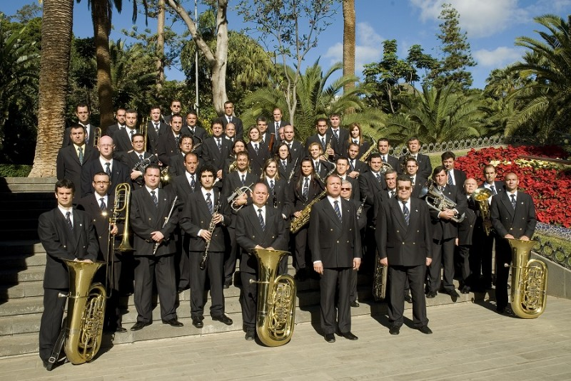 Concierto Banda Sinfonica Municipal de Santa Cruz Jameos del agua enero 2017
