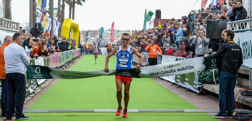 Jose Carlos Hernandez. Gran Canaria Maraton 2017