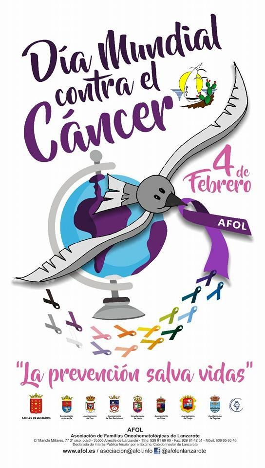 Dia mundial contra el cancer lanzarote febrero 2017