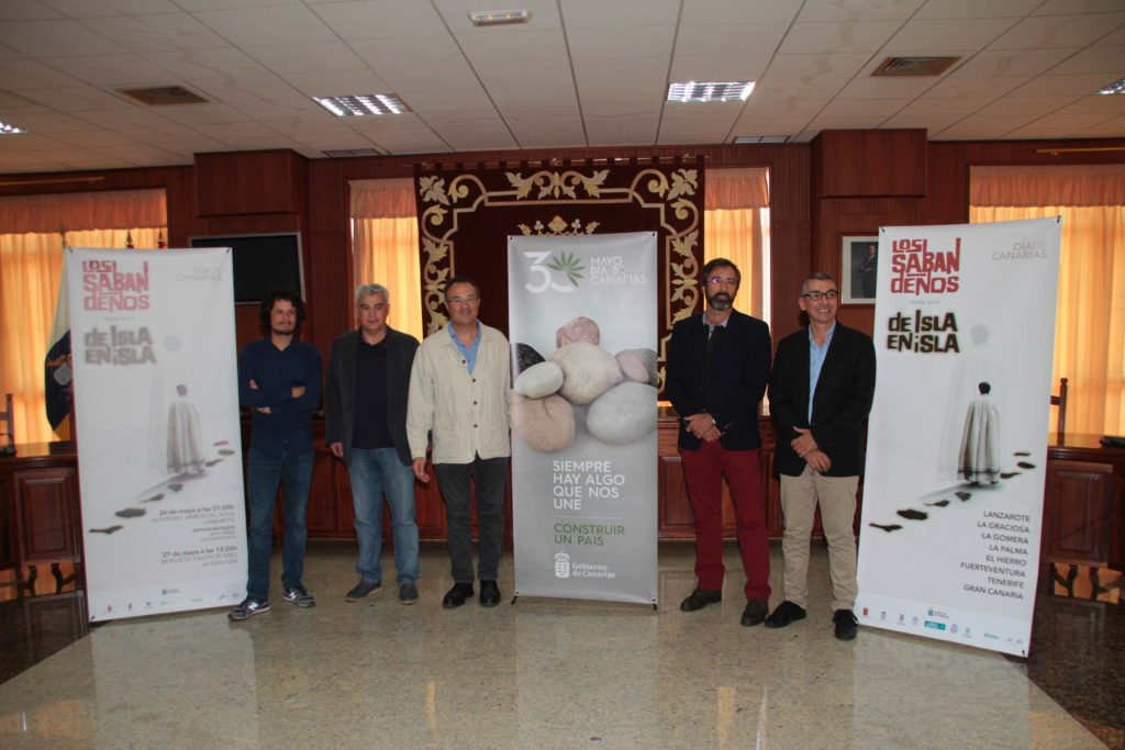 Presentacion concierto Los Sabandenos Dia Canarias mayo 2017