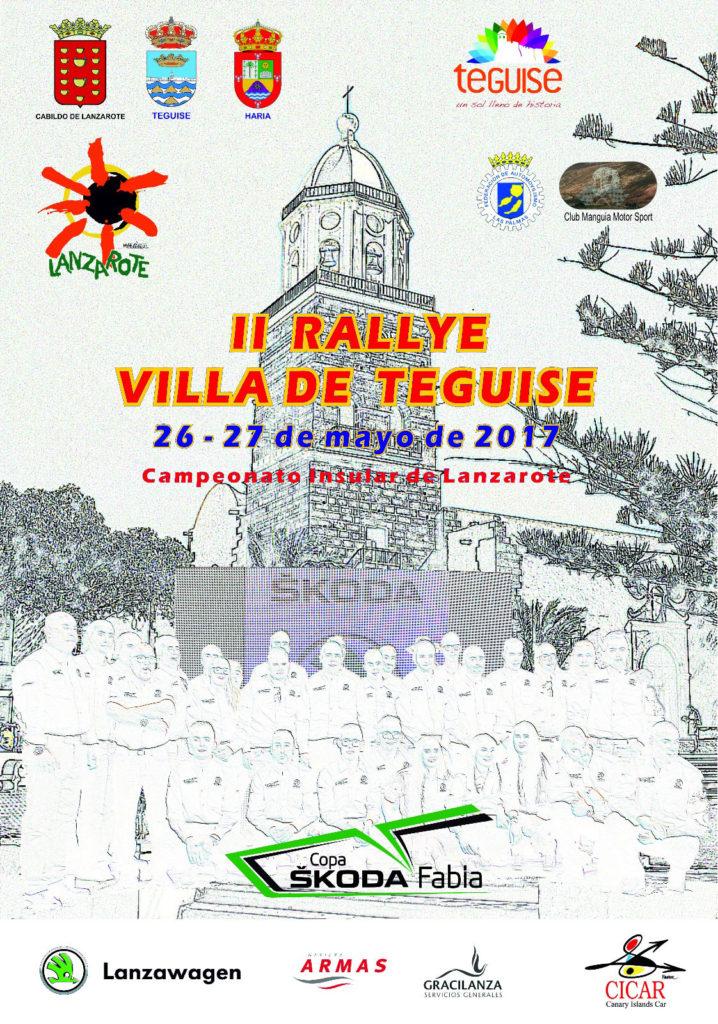 Rallye Villa de Teguise 2017 cartel