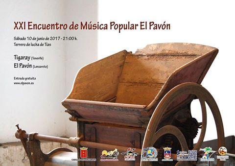 Encuentro de musica e Pavon Tias junio 2017