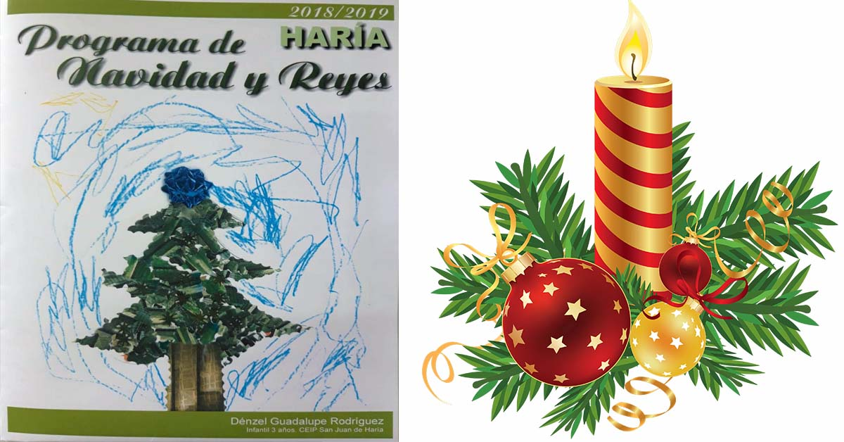 Imagenes De Navidad 2019.Programa Navidad Haria 2018 Alsolajero Com Revista